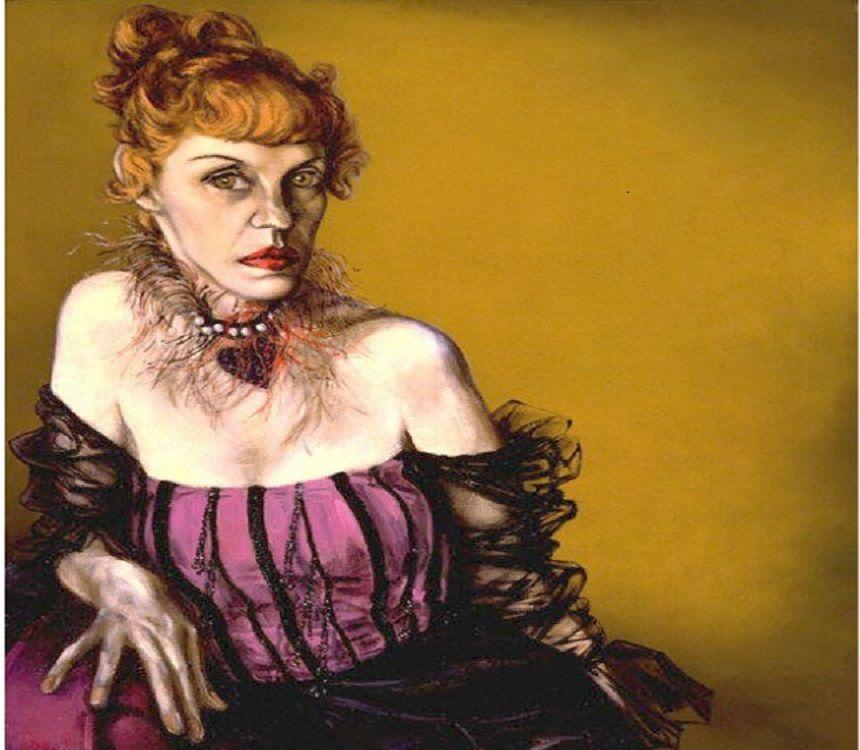 Lotte Lenya / Saul Bolasni /  c. 1954 / National Portrait Gallery, Smithsonian Institution / Gift of Lee Boltin