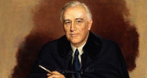 Franklin Delano Roosevelt by Douglas Granville Chandor