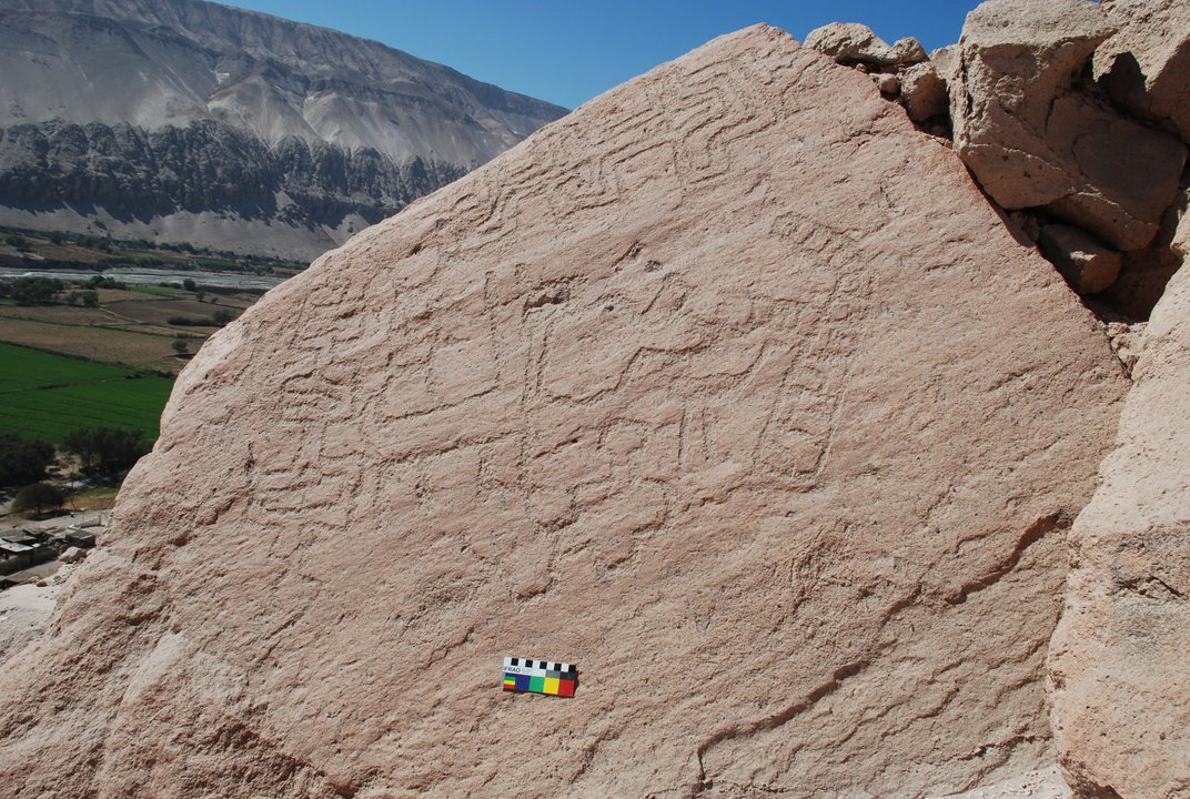 Thousand-Year-Old Rock Art Likely Served as a Gathering Point for Llama Caravans Crossing the Andes