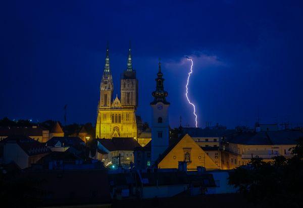 A Lightning over Zagreb thumbnail