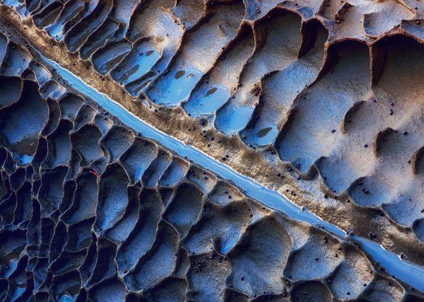 alveolar erosion on the eastern Asturian coast thumbnail