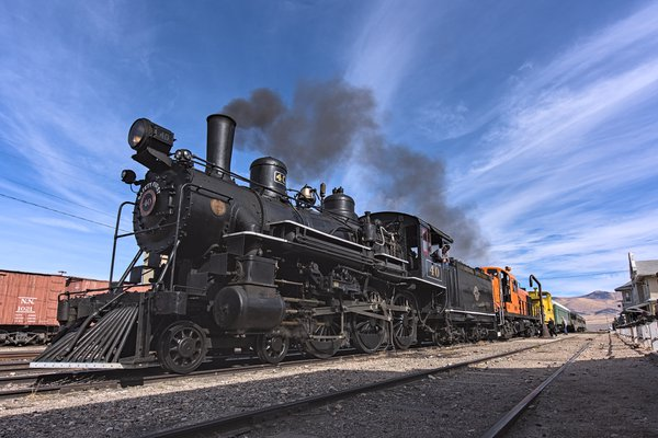Nevada Northern 4-6-0 No. 40, Ely, Nevada thumbnail