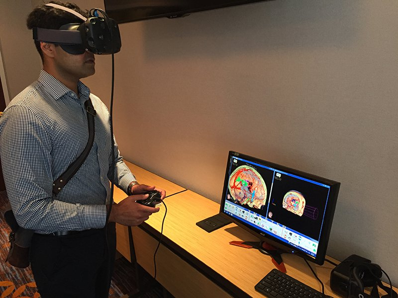 How Is Brain Surgery Like Flying? Put On a Headset to Find Out