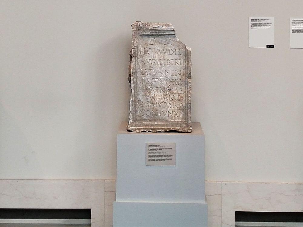 The gravestone of a former slave