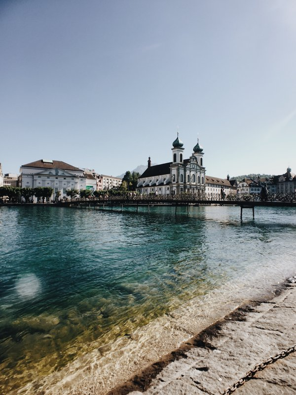 Peaceful summer day in Lucerne, Switzerland thumbnail
