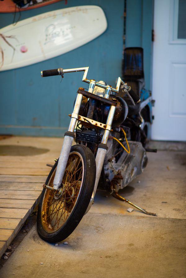 Old rusty Bike thumbnail