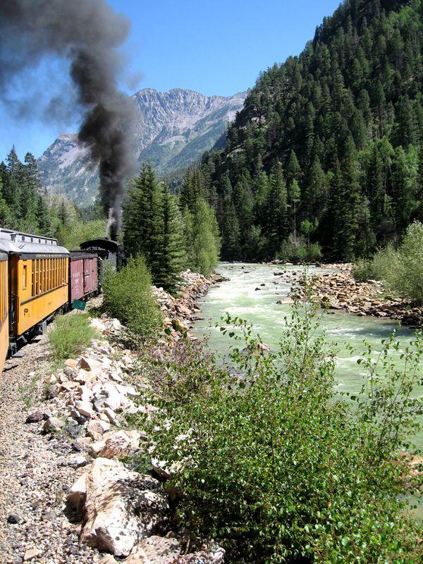Around the Bend Narrow Gauge R R from Durango to Silverton, Colorado thumbnail