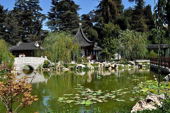 Chinese Garden at Pasadena, California thumbnail