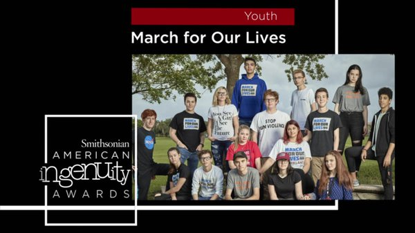Preview thumbnail for Smithsonian Ingenuity Award Winners: March for Our Lives Students