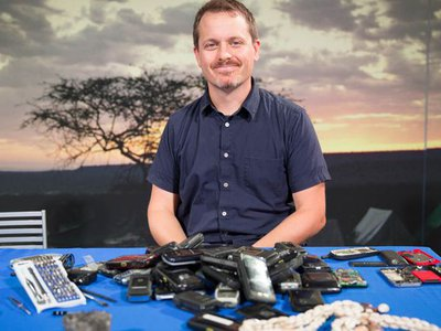 Joshua Bell is the curator of globalization at the Smithsonian's National Museum of Natural History. He is working on a new exhibit about the global history of cellphones.