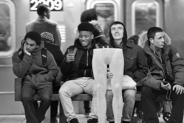 Subway station bench thumbnail