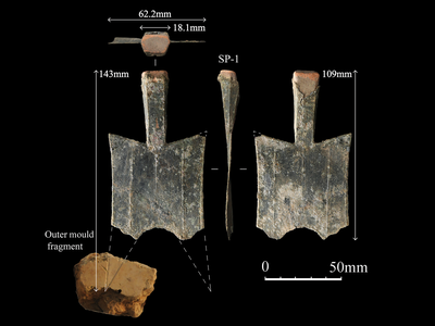 Radiocarbon dating suggests the workshop began minting operations between 640 and 550 B.C.E.