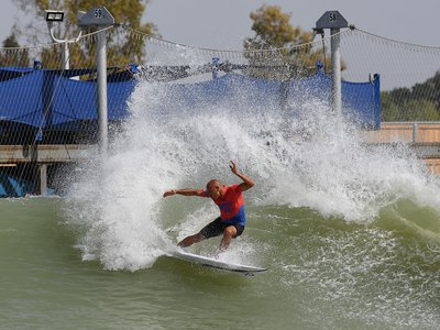 At Surf Ranch in May (where Kelly Slater leaned into a cutback), 5,000 spectators gathered to watch 25 world-class surfers compete for prize money.