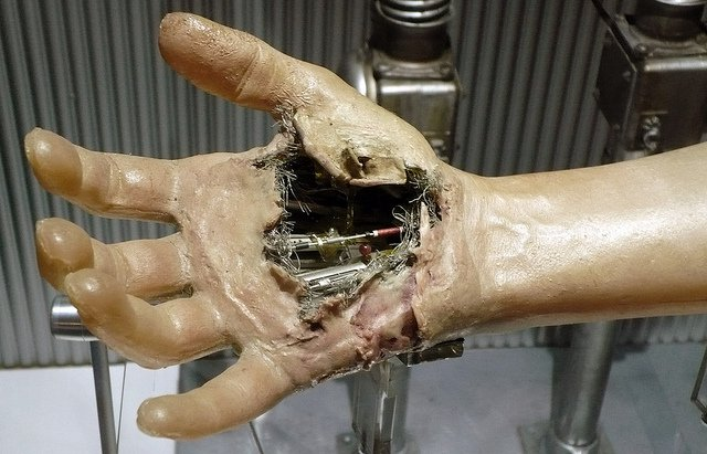 Luke Skywalker's prosthetic hand from The Empire Strikes Back