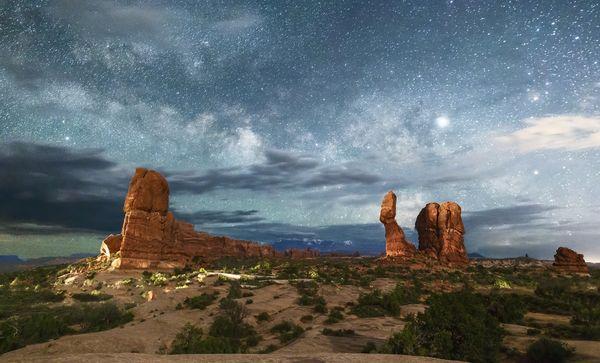 Balanced Rock and Milky Way, No. 2 thumbnail