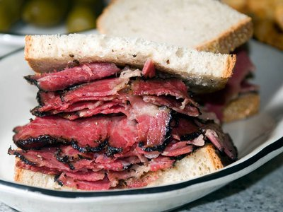 You should definitely eat this pastrami before you die.