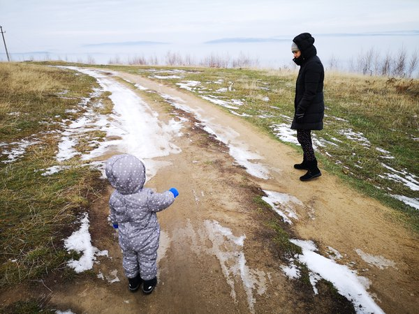 Winter walk thumbnail