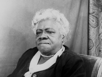 Mary McLeod Bethune in 1949