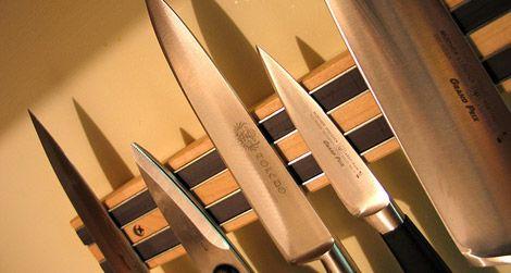 Always beware of sharp knives.