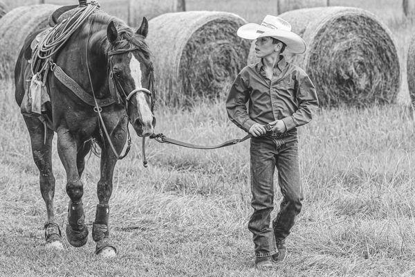 Boy and His Horse thumbnail