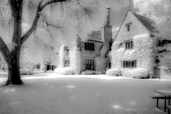 Edsel Ford House InfraRed thumbnail