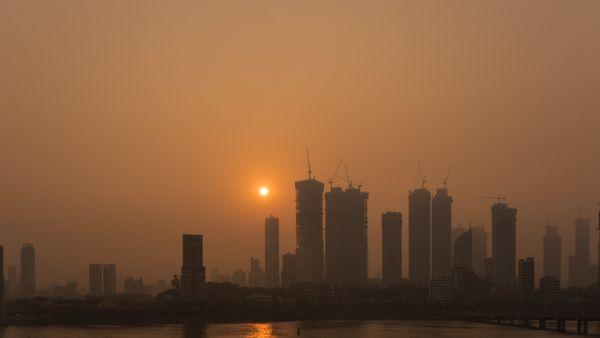 sunrise over Mumbai skyline thumbnail