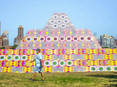 Socrates Sculpture Park is located in Queens—New York's most diverse borough, and also the hardest hit by COVID-19.