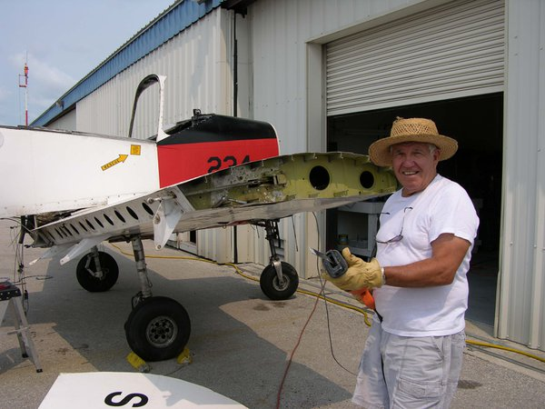 Old guy having to cut up his airplane thumbnail