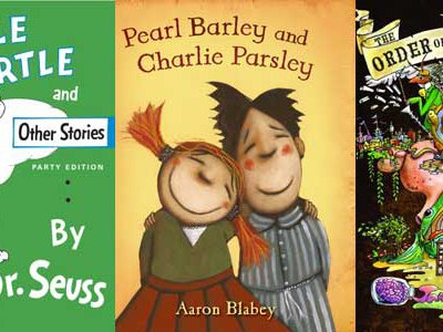 Yertle the Turtle, Pearl Barley and Charlie Parsley and The Order of Odd Fish were among those selected as Smithsonian Notable Books for Children 2008.