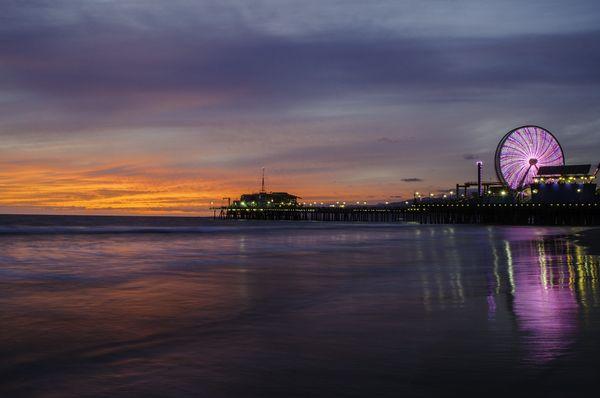 Perfect Santa Monica Sunset thumbnail