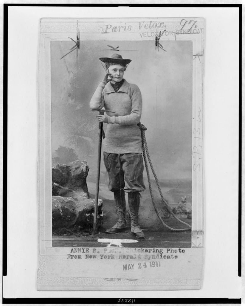Three Things to Know About Pants-Wearing Mountaineer Annie Smith Peck
