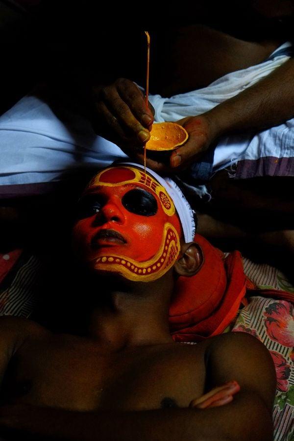 theyyam makeup thumbnail