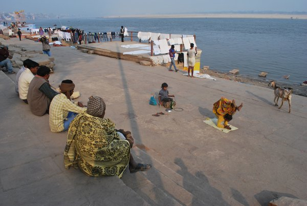 A day of Varanasighat. thumbnail