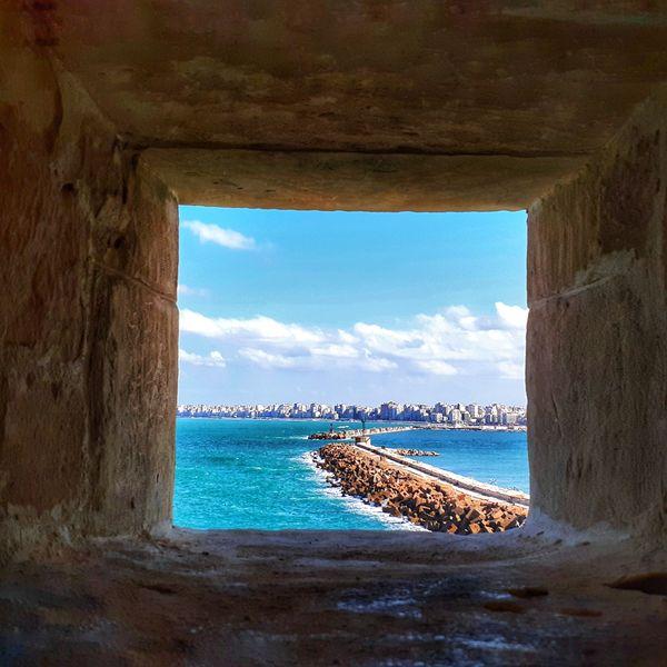 Alexandria seen from Citadel of Qaitbay thumbnail