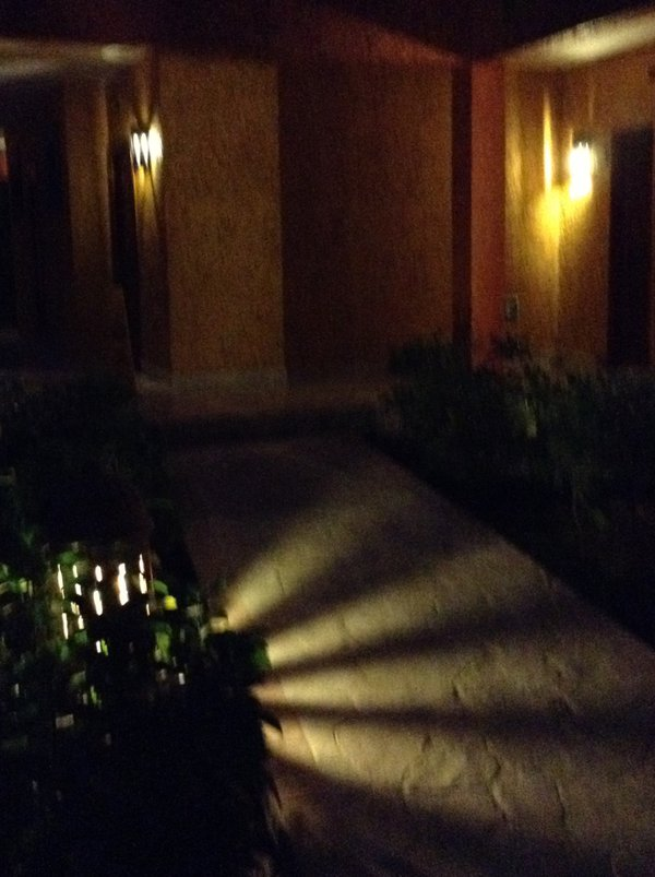 Resort impressions. Playa del Carmen.  Night routes. thumbnail