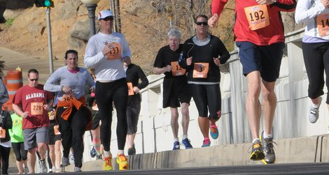 Human running