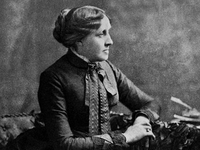 """Louisa May Alcott wrote """"Aunt Nellie's Diary"""" in 1849, almost 20 years prior to the publication of Little Women."""