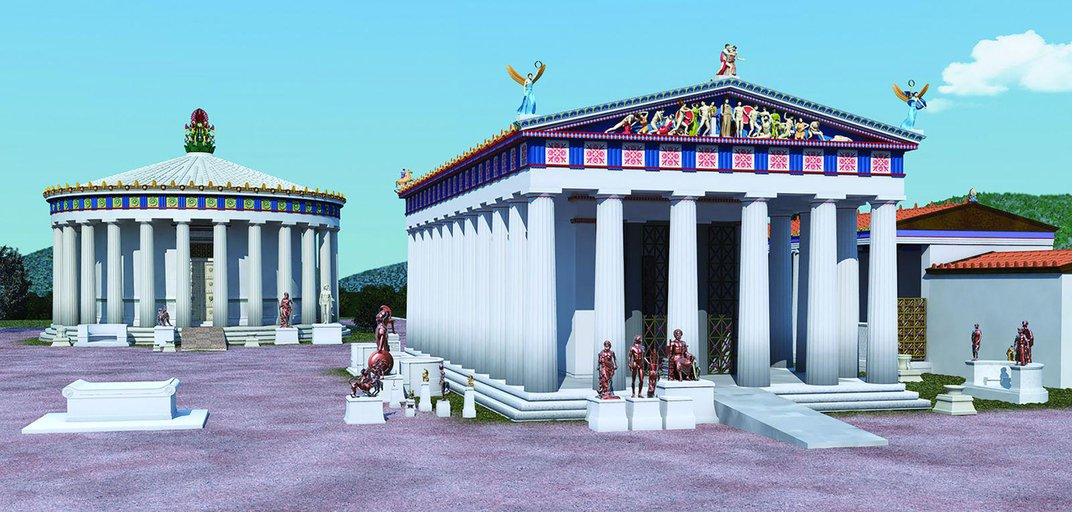 Did the Ancient Greeks Design Temples With Accessibility in Mind?