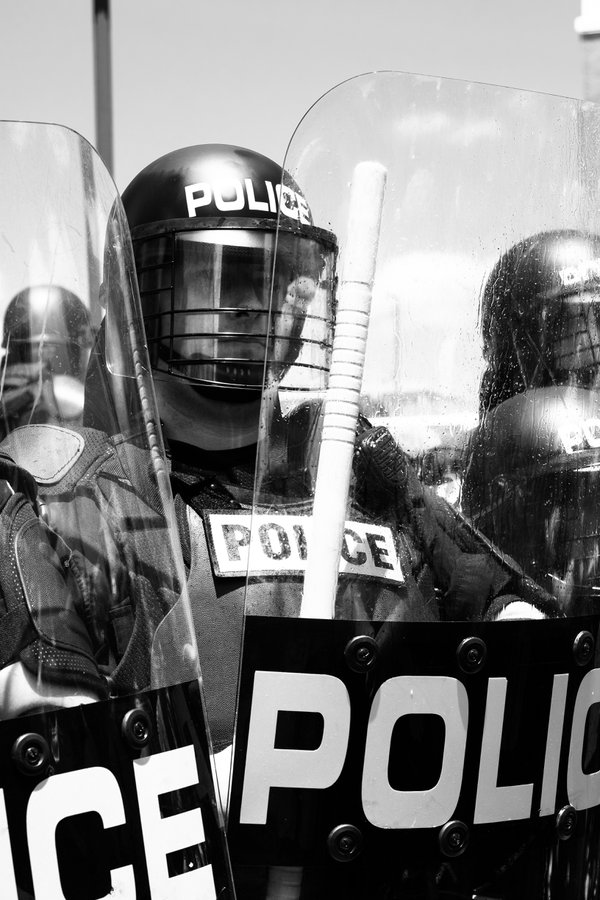 Police in Protest thumbnail