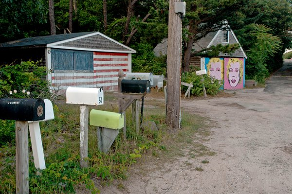 Neighbors express themselves in Provincetown, Massachusetts. thumbnail