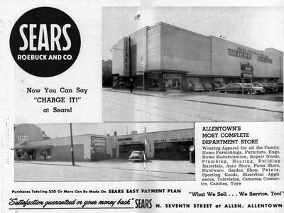 Opening of Sears Department Store