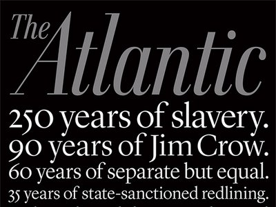"""This month's Atlantic cover story by Ta-Nehisi Coates is generating some serious discussion about """"The Case for Reparations."""""""