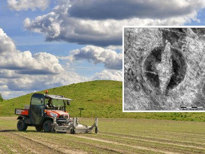 Norwegian officials plan to excavate this rare Viking ship burial site.