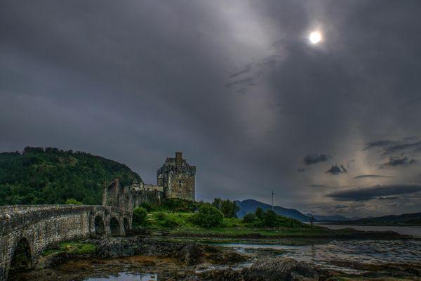Eilean Donan Castle Mood, Scotland thumbnail