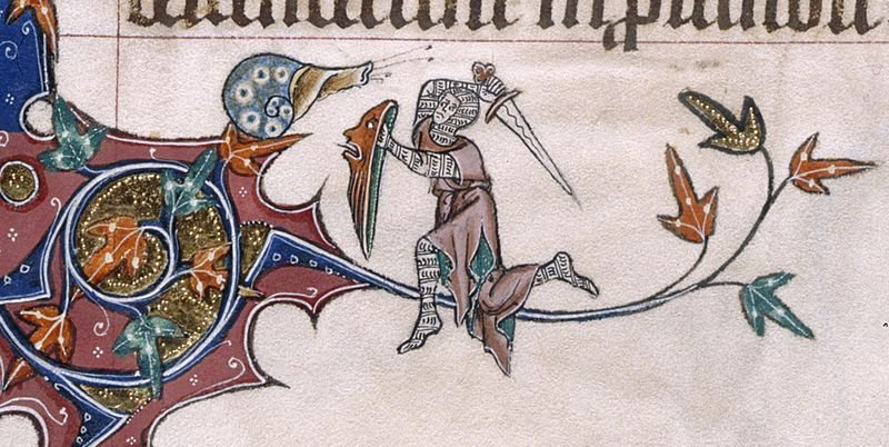 Was This Ornament of a Knight Emerging From a Snail Shell a 'Medieval Meme'?