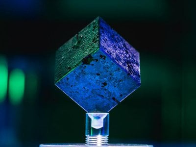 One of 664 uranium cubes used in a nuclear reactor during World War II. Researchers are trying to confirm whether a similar cube housed in the Pacific Northwest National Laboratory's collections was also part of the Nazis' failed nuclear program.