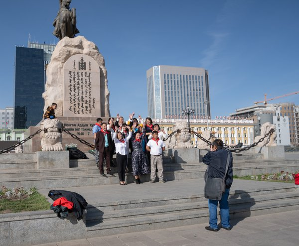 Group Photographer in the Square thumbnail