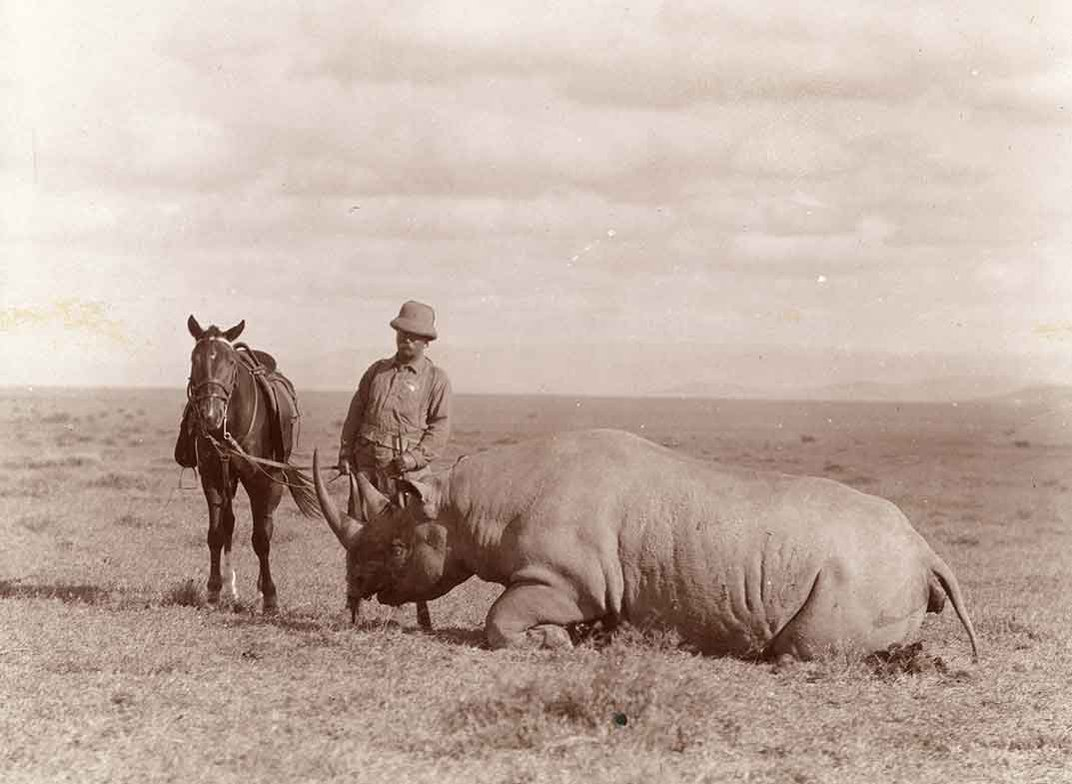 Teddy Roosevelt's Epic (But Strangely Altruistic) Hunt for a White Rhino