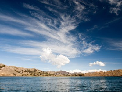 Lake Titicaca in myth is the birthplace of humanity, and the people who live on its shores depend on it for their livelihoods.