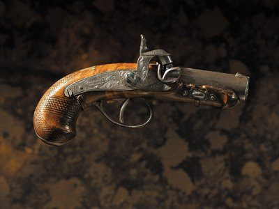 The weapon that shot Abraham Lincoln